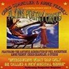 chris chandler & anne feeney - flying poetry circus CD 7 tracks used mint