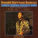 donald harrison quintet - for art's sake CD 1991 black lion candid 7 tracks used mint