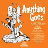 anything goes - eileen rodgers + hal linden - 1962 off-broadway cast CD epic 13 tracks used mint