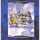 walt disney world resort - the official album CD 1999 18 tracks used mint