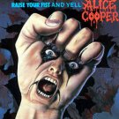 alice cooper - raise your fist and yell CD 1987 MCA 10 tracks used mint
