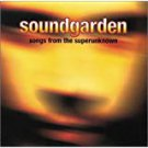 soundgarden - songs from the super unknown CD 1995 A&M 5 tracks used mini