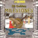 50 golden milestones vol. 3 - various artists CD 2-discs 1997 selected sound used mint
