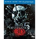 Final Destination 5 Blu-ray 3D + Blu-ray + UltraViolet Digital Copy Combo Pack used mintd