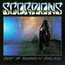 scorpions - best of rockers 'n' ballads CD 1989 breeze polygram 12 tracks used mint