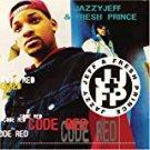 jazzy jeff & fresh prince - code red CD 1993 jive zomba 12 tracks used mint