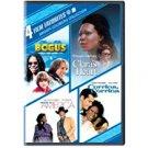 whoopi goldberg - bogus / clara's heart / made in america / corrina corrina DVD 2-discs 2010 used