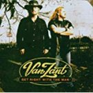 van zant - get right with the man CD 2005 sony 11 tracks used mint