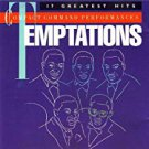 temptations - 17 greatest hits CD 1985 motown gordy BMG Direct used mint