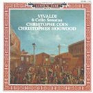 vivaldi 6 cello sonatas - christophe coin + christopher hogwood CD 1989 decca l'oiseau-lyre used