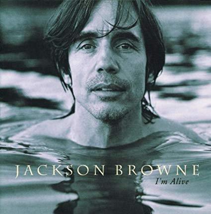 jackson browne - i'm alive CD 1993 elektra 10 tracks used mint