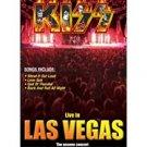 kiss - live in las vegas DVD 2002 used mint