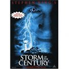 stephen king's storm of the century DVD 1999 trimark PG-13 256 minutes used
