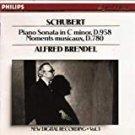 schubert piano sonata in C minor D.958 + moments musicaux D.780 - brendel CD 1989 philips