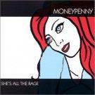 moneypenny - sha'e all the rage CD 1999 bond girl music 10 tracks used mint