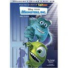 monsters inc. DVD 2-disc collector's edition Disney Pixar 2001 used mint