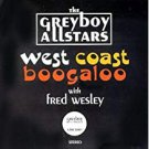 greyboy allstars - west coast boogaloo with fred wesley CD 1994 greyboy records 8 tracks used mint