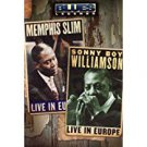 Blues Legends - Memphis Slim and Sonny Boy Williamson Live in Europe DVD 2004 hip-o new