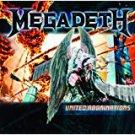 megadeth - united abominations CD 2007 roadrunner 11 tracks used mint