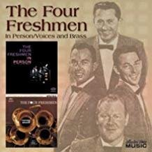 four freshmen - in person / voices and brass CD 2004 EMI collectors' choice 26 racks used mint