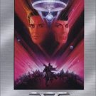 star trek the final frontier V widescreen DVD 2-discs 1989 paramount color 106 mins PG  used mint
