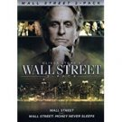 wall street + wall street: money never sleeps DVD 2-discs 2-movie pack 2010 fox new