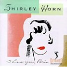 shirley horn - i love you paris CD 1994 polygram verve 11 tracks used mint