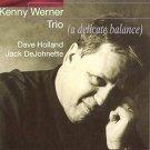 kenny werner trio w/ dave holland + jack dejohnette - a delicate balance CD 1997 RCA BMG used mint