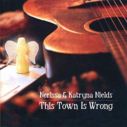 nerissa & katryna nields - this town is wrong CD 2004 zoe records 12 tracks new