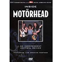 motorhead - inside motorhead a critical review DVD 2005 music reviews ltd used mint