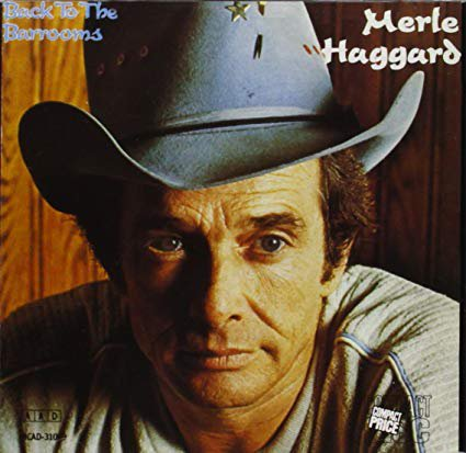 merle haggard - back to the barrooms CD 1980 MCA 11 tracks used mint