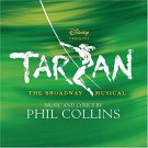 tarzan - broadway musical - music and lyrics by phil collins CD 2006 edgar rice 19 tracks used mint