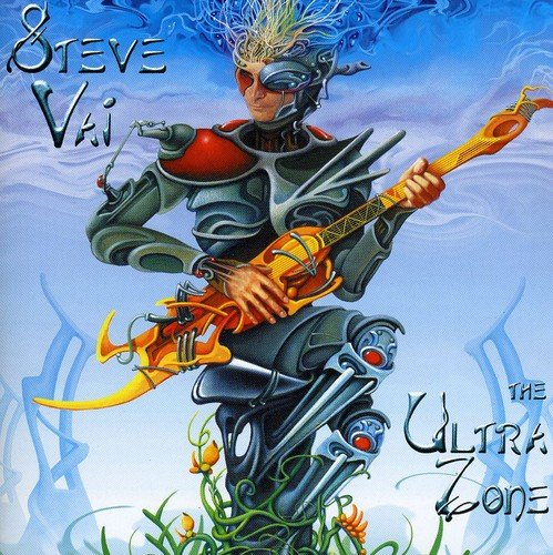 steve vai - ultra zone CD 1999 sony epic BMG Direct 13 tracks used mint