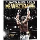 shawn michaels - mr. wrestlemania bluray 2-discs 2013 WWE 540 minutes used mint