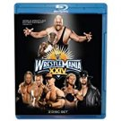 WWE wrestlemania XXIV Bluray 2-discs 2008 used mint 480 minutes