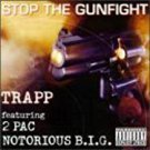 trapp featuring 2pac & notorious B.I.G. - stop the gunfight CD 1997 intersound 14 tracks used mint