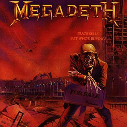 megadeth - peace sells but who's buying CD 1986 capitol bmg direct 8 tracks used mint