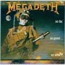 megadeth - so far so good so what! CD 1988 capitol 8 tracks used mint