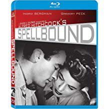 alfred hitchcock's spellbound - ingrid bergman + gregory peck Blu-ray 2011 MGM used mint