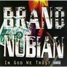 brand nubian - in god we trust CD 1992 elektra 14 tracks used mint