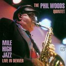 phil woods quintet - mile high jazz live in denver CD 1996 concord 6 tracks used mint
