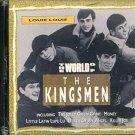 world of the kingsmen - louie louie CD1992 trace 10 tracks used mint