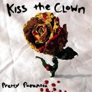 kiss the clown - pretty paranoia CD 1999 rotten records 15 tracks used mint
