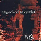 disappointment incorporated - F = 0 CD 1999 time bomb 12 tracks used mint