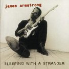 james armstrong - sleeping with a stranger CD 1995 hightone records 12 tracks used mint