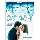 last night - keira knightley + sam wrothington DVD 2011 miramax R used mint