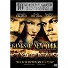 gangs of new york DVD 2-discs PAL 2003 splendid used mint