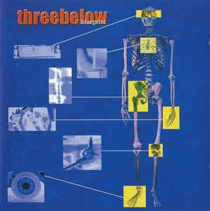 threebelow - blueprint CD 2002 11 tracks used mint
