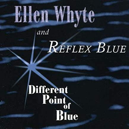 ellen whyte and reflex blue - different point of blue CD 1996 amallegory 9 tracks used mint