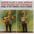 lester flatt & earl scruggs - songs og the famous carter family CD columbia 12 tracks used mint